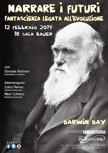 eventi a milano per il Darwin Day 2014