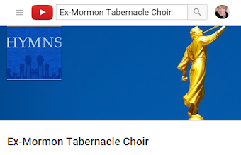 LDS Hymn Parodies performed by the ExMormon Tabernacle Choir now on YouTube