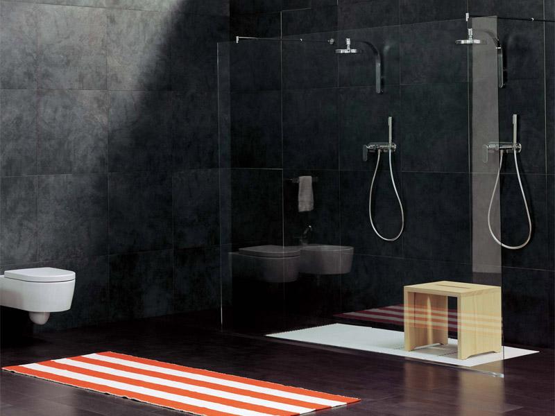 Piastrelle doccia texture semplici trucchi per fare - Stuccare fughe piastrelle doccia ...