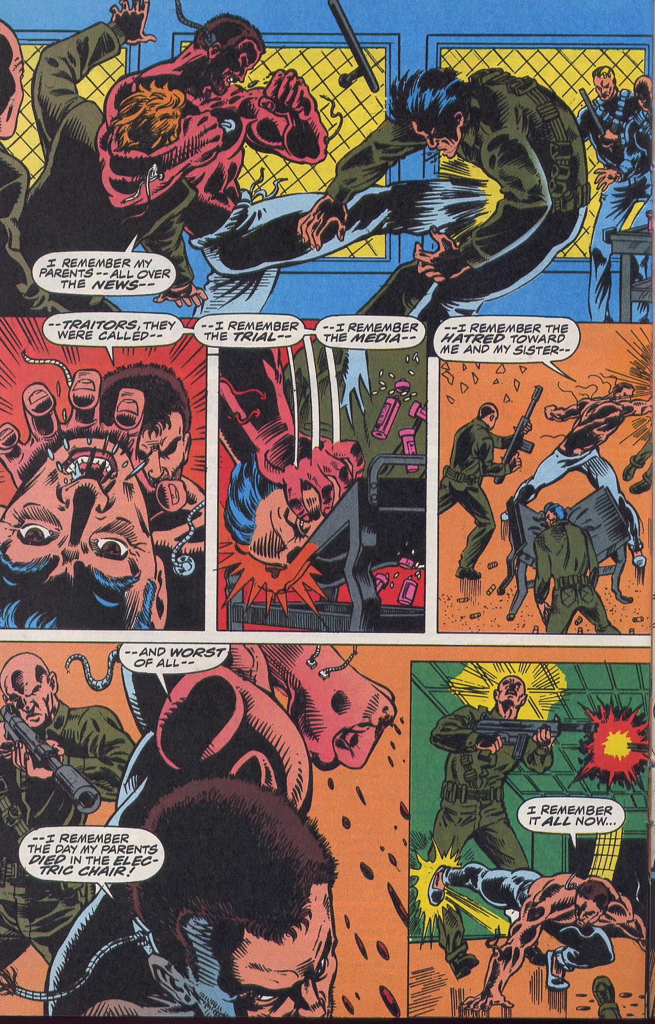 Captain America (1968) Issue #420b #370 - English 17