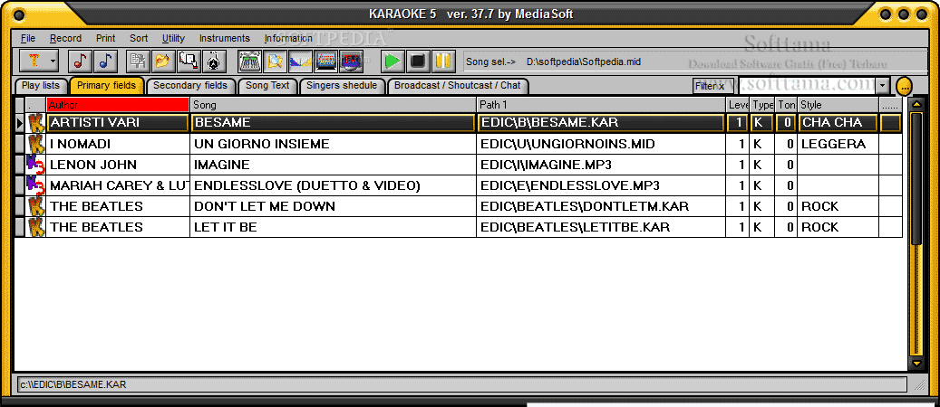 Free Download Software Karaoke 5.40.21 Terbaru Full Version
