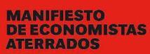 Manifiesto Economistas Aterrados