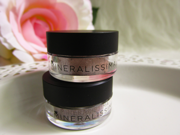 Mineralissima Eyeshadows in Nude & Whisper - 2g - je 6.25 Euro
