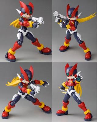 Rockman Zero action figures
