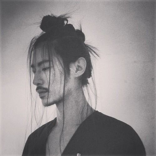 samurai hairstyles : ... Samurai Undercut Top-Knot Half-Top-Knot Hairstyles and Makeup for Men