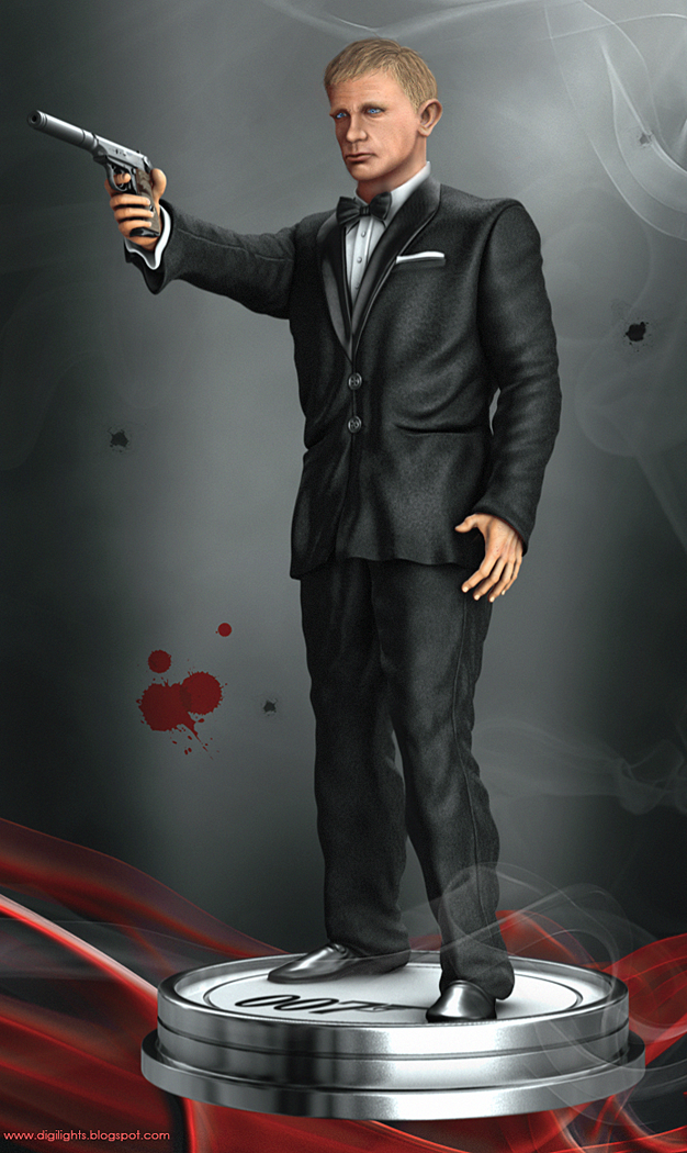 marc mons, Marc Mons, MARC MONS, james bond fan art, 007 FAN ART, fanart 007, poster Bond 24, Bond 24, james Bond, Daniel Craig, ultimate 007, zbrush, maya, mudbox, 3d