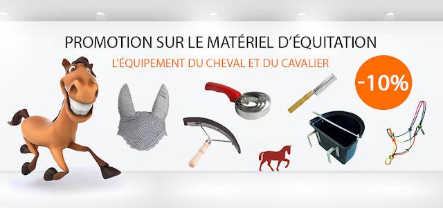 Promo matériel d'équitation