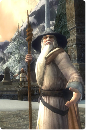 Lord of the Rings Online Gandalf