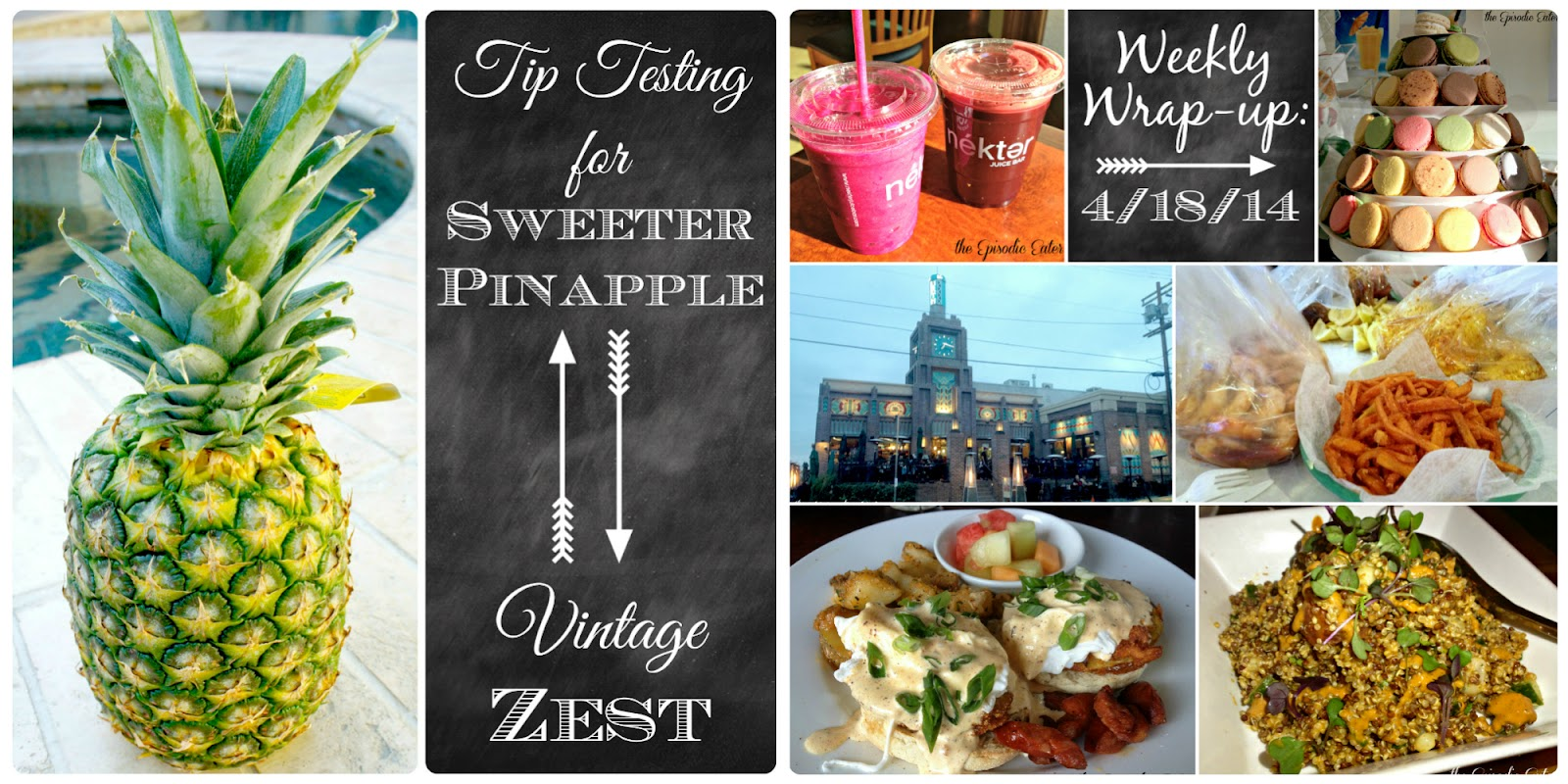 Sunday Synopsis on Diane's Vintage Zest