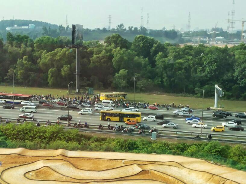 Kemalangan | Batu 3 | Shah Alam | Shaklee | Sg. Buloh | Setiawangsa