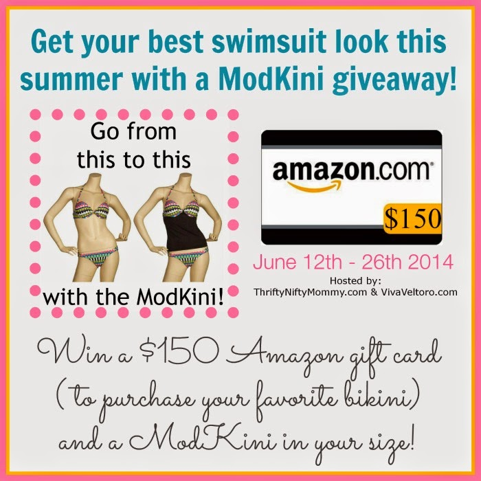 ModKini & $150 Amazon Gift Card Giveaway
