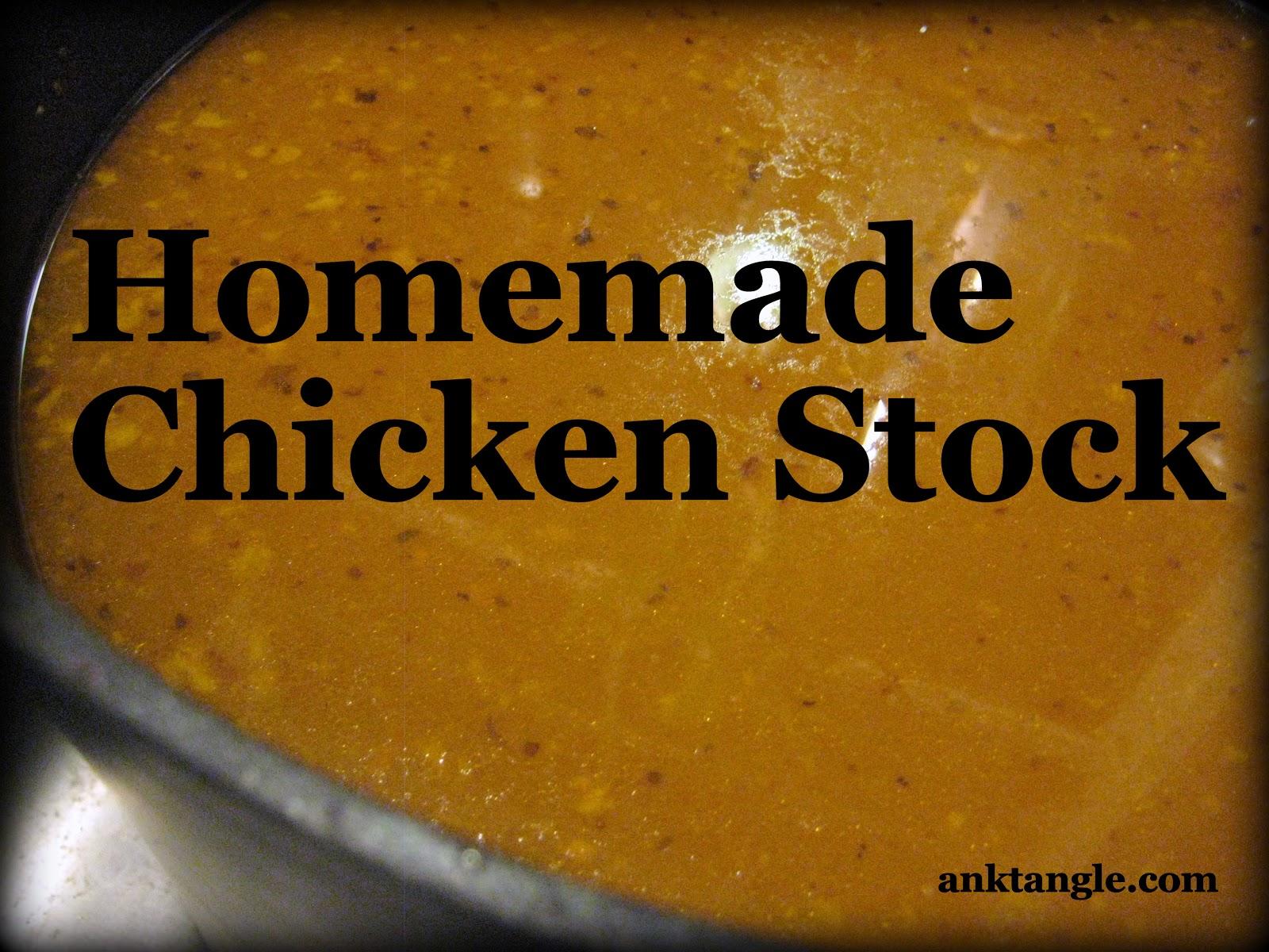 Easy Chicken Stock Recipe — Dishmaps