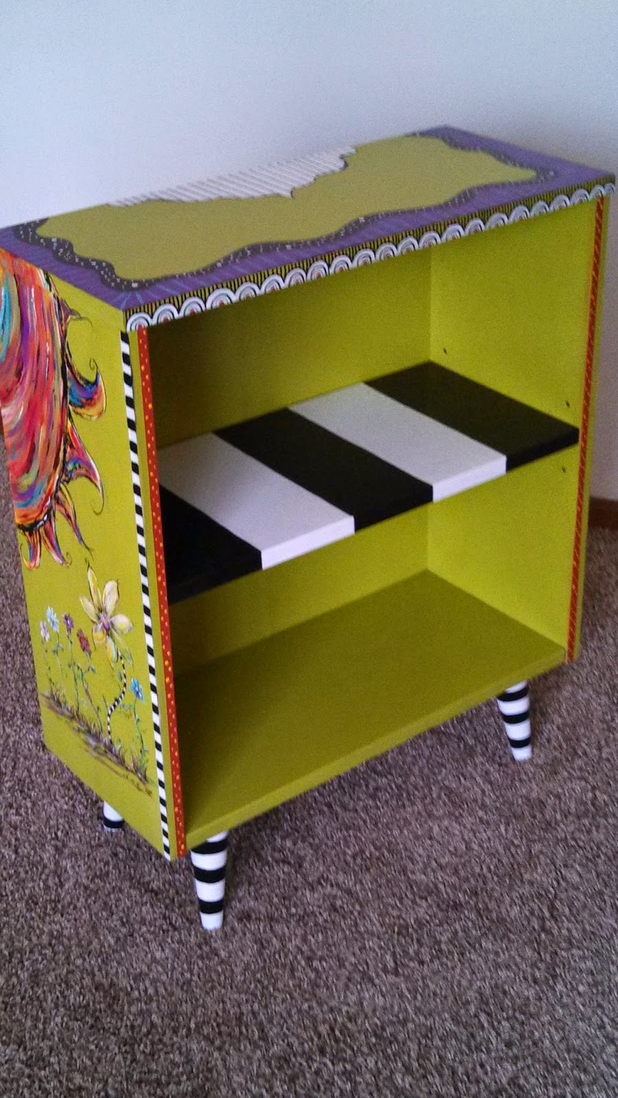 Carolyn 39 s funky furniture fun bookcase for Funky furniture