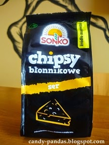 Chipsy błonnikowe o smaku sera