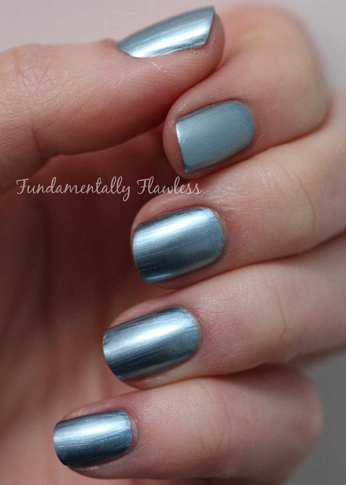 Models Own Colour Chrome Collection Blue Swatch