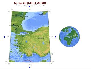 Turkey earthquake 2011 map