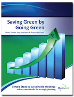 book cover Saving Green by Going Green written by MeetGreen