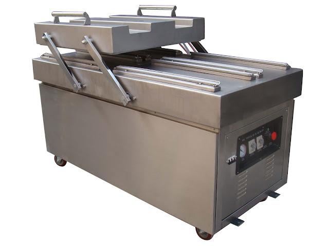 double chamber vacuum packing machine vakuumverpackungsmaschinen fuer Lebensmitteln