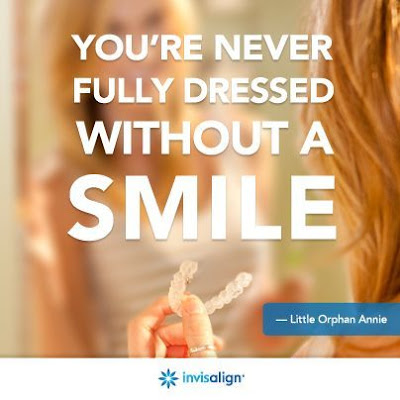 You're Never Fully Dressed Without a Smile - Invisalign - an alternative to braces - #ad #INVStraightTalk