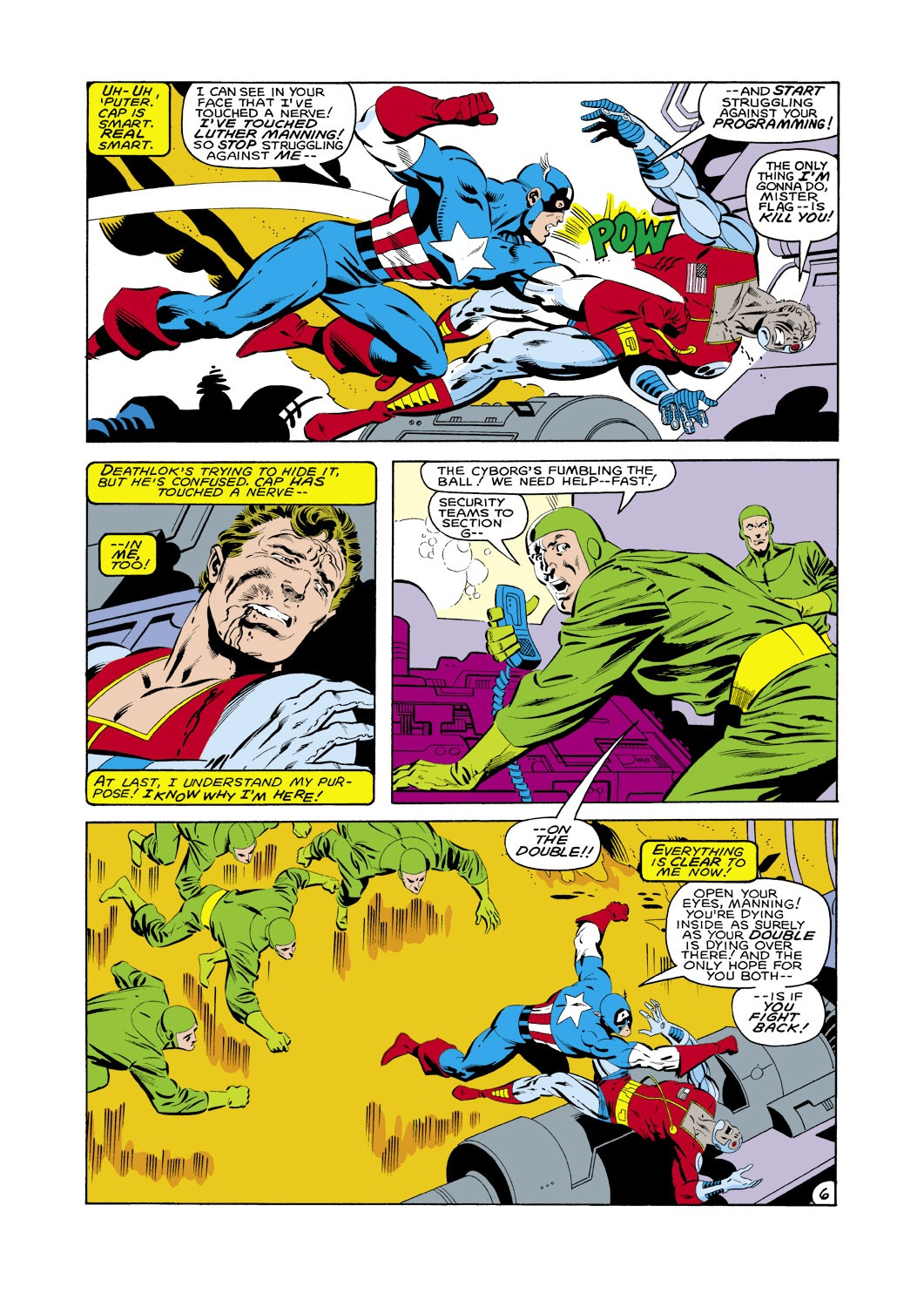 Captain America (1968) Issue #287 #203 - English 7