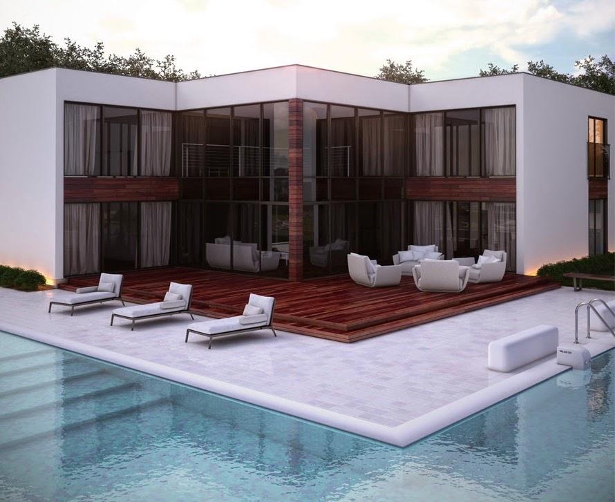 Proyectos de casas modernas proyecto de casa moderna ch168 for Proyectos casas modernas