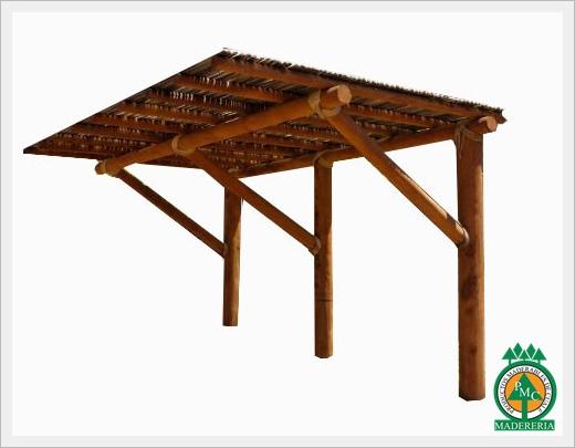 Construir una pergola best resultado de imagen para - Hacer pergola madera ...