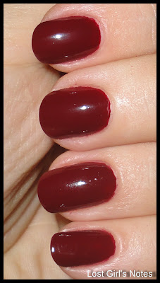 nails inc. st. pancras fall 2011 collection swatch
