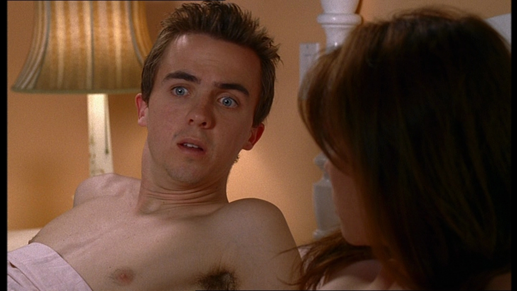 frankie muniz shirtless: