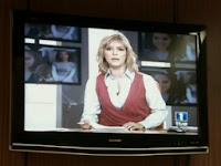 Crossover entre el 'Telediario' y la serie 'Desaparecida'