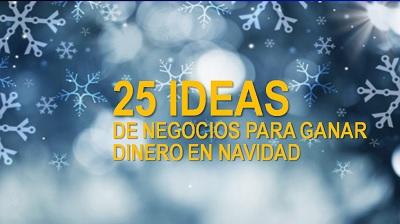 Ideas de Negocios para Navidad