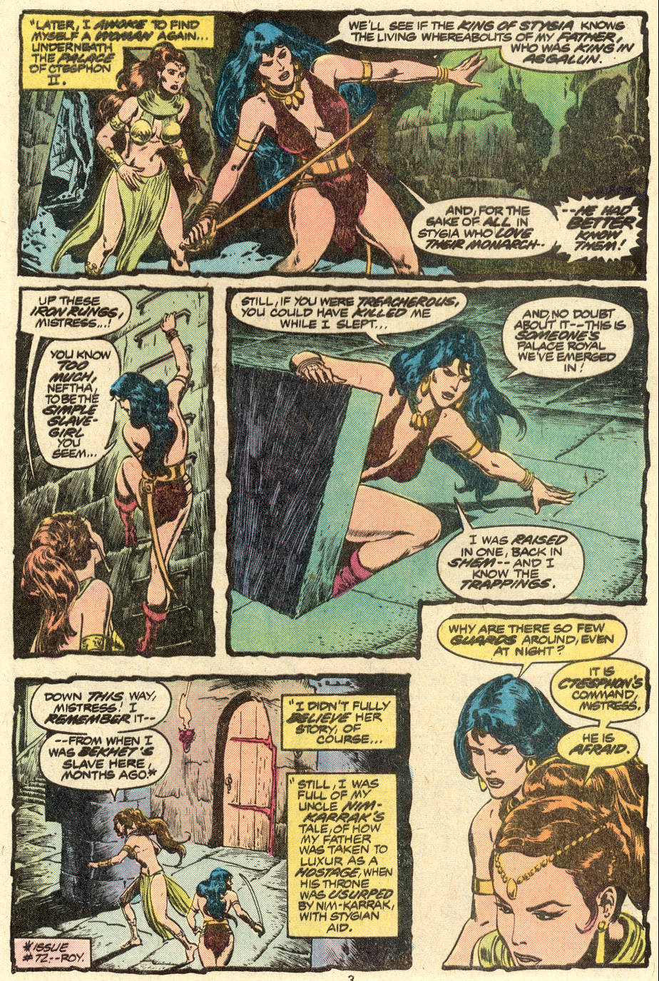 Conan the Barbarian (1970) Issue #88 #100 - English 4