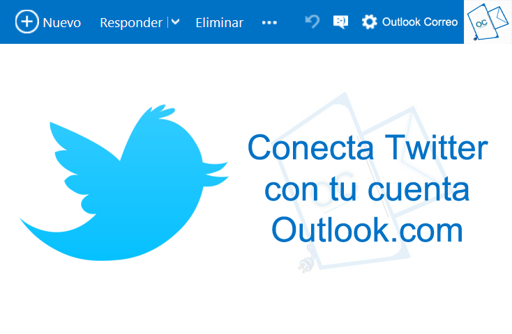 Conecta Twitter con Outlook.com
