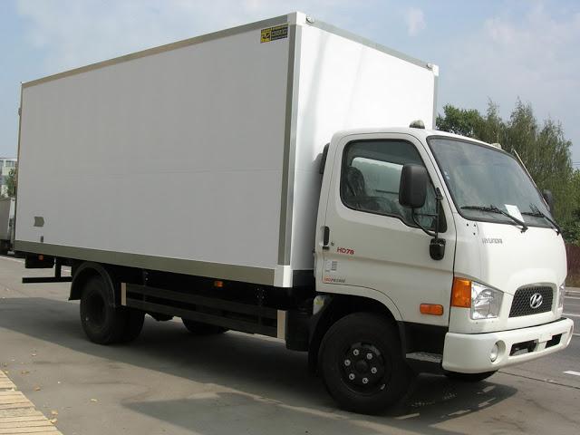 xe tải hyundai hd78 thùng kín