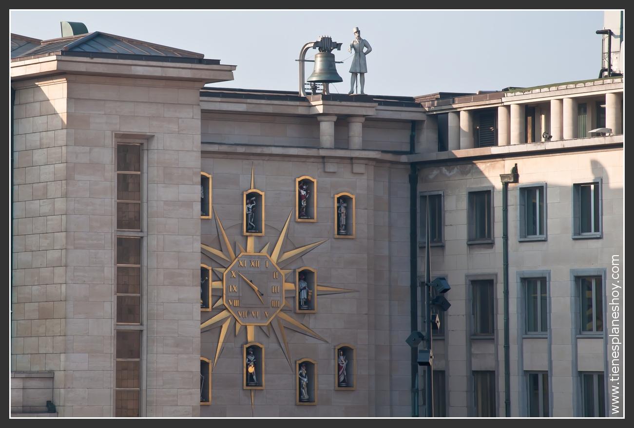 Reloj de los Ciudadanos Bruselas