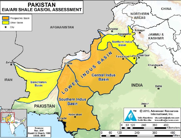 Pakistans Vast Shale Oil Gas Reserves Updates Discussions - Us shale gas map