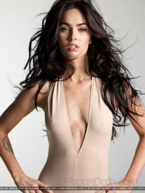 Creamy Megan Fox