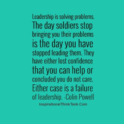 leadership colin powell General colin powell's leadership genral colin luther powell is an american statesman and retired four star general in the united states army.