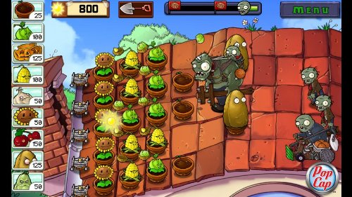 [Game Java] Game Hoa quả nổi giận - Plants with Zombies ...