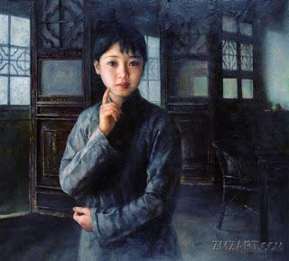 Pintura Realista Figurativa de China Arte