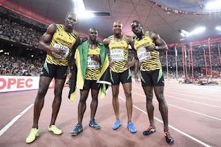 ATLETISMO - Dominio absoluto de Jamaica en las pruebas de relevos 4x100 con triplete de Bolt