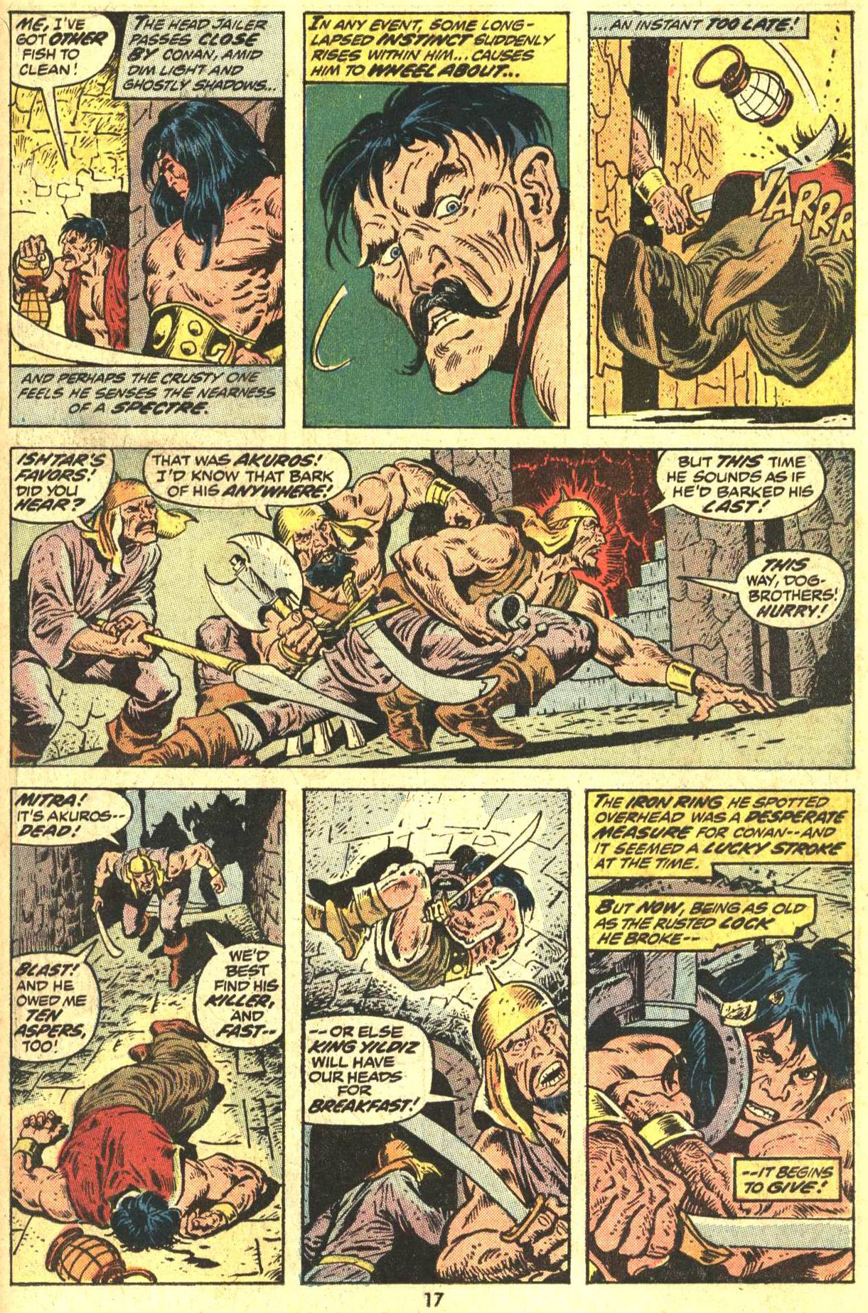 Conan the Barbarian (1970) Issue #29 #41 - English 13