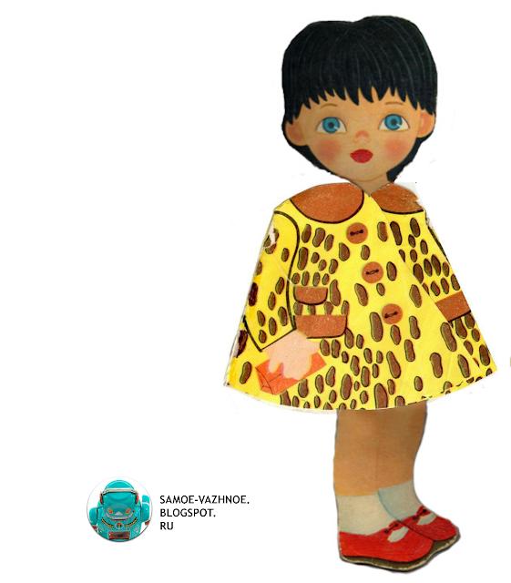 Кукла-книга Кукла Машенька стихи Михайлова Лия Майорова издательство Малыш страницы платья меняй наряды