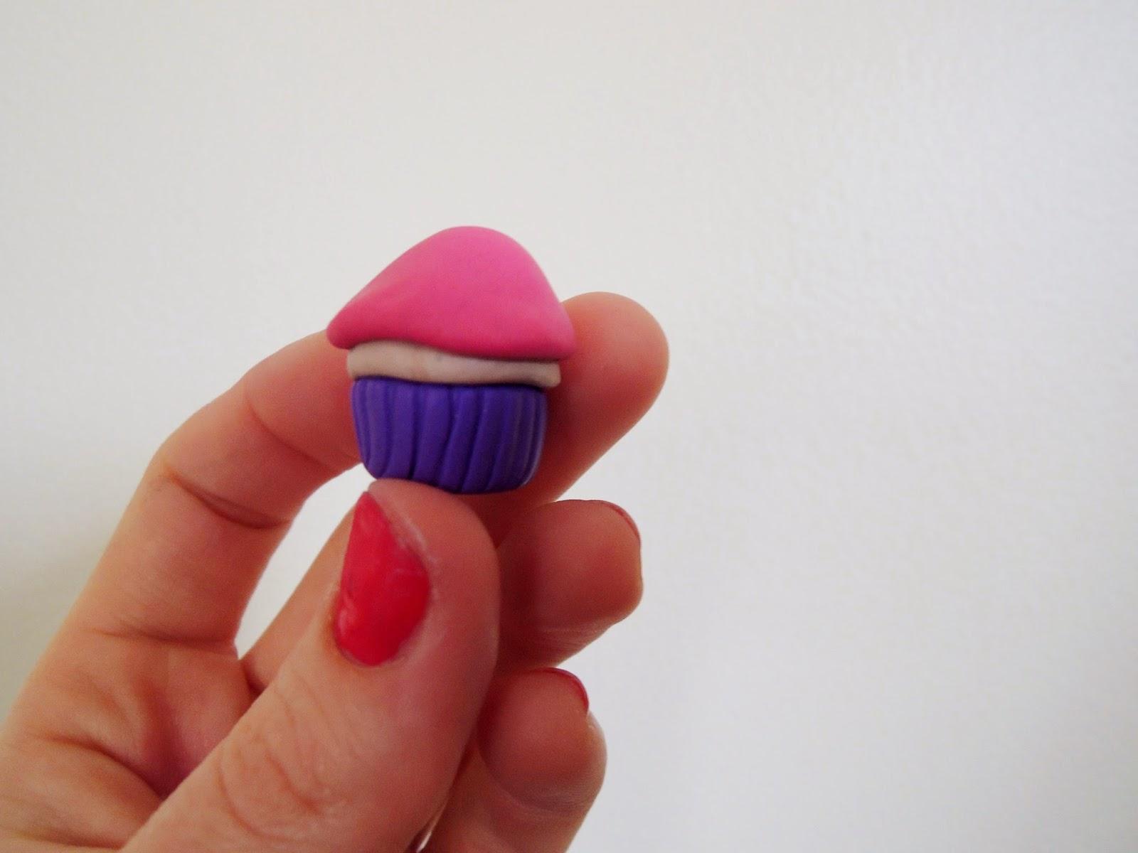 DIY Clay Cupcake Bookmark