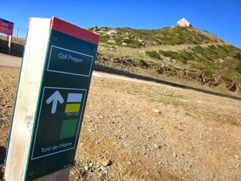 Summit of Turo de l'Home in Montseny