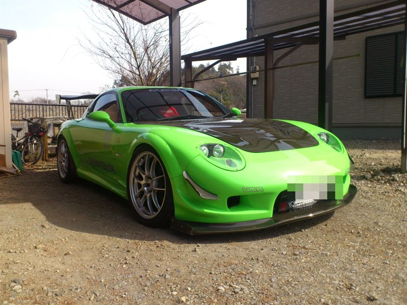 Mazda RX-7 FD3S zdjęcia fotki tuning modyfikacje