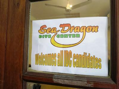 PADI IDC November 2013 at Sea Dragon