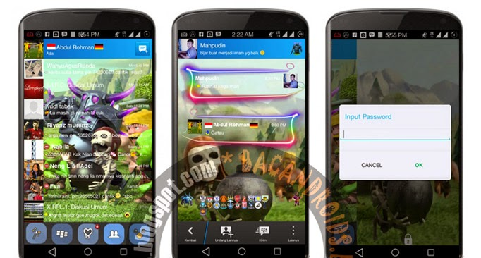 Download BBM Mod Clash Of Clans(COC)  Apk