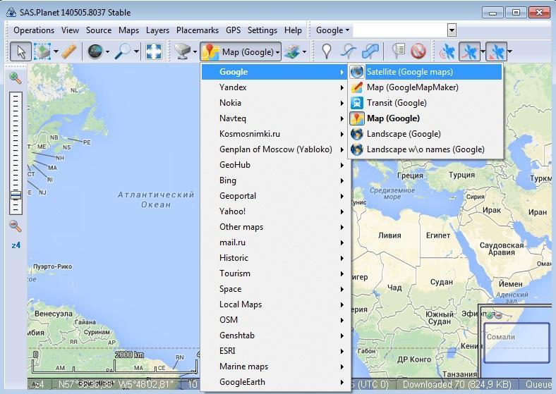 descargar imagen google earth georeferenciada
