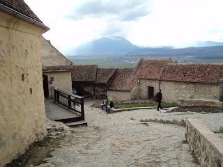 Rasnov Citadel -Upper  Square