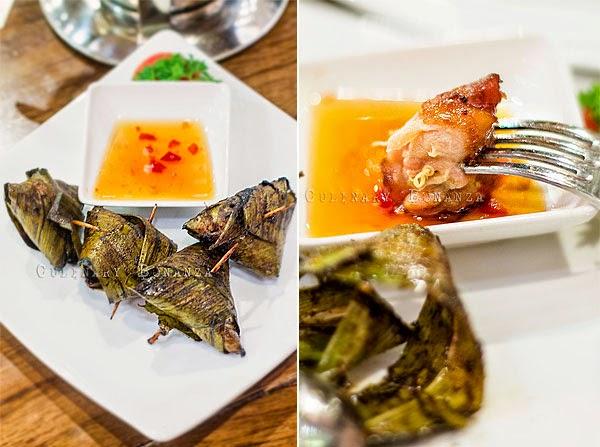 Gai Hor Bai Toey - Pandan Leave Chicken